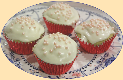 Delicious Cup Cakes, made without eggs and dairy
